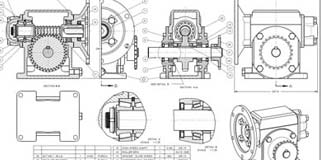CAD Conversion of Reducer Gear Assembly
