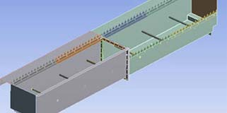 To Develop a Storage Tank Design to Resist Stress and Deformation Due to the Weight of the Oil Using FEA