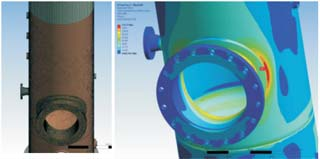 Fatigue Life Assessment of Pressure Vessel Subjected to Cyclic Pressure