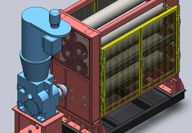 3D CAD Model of Machine