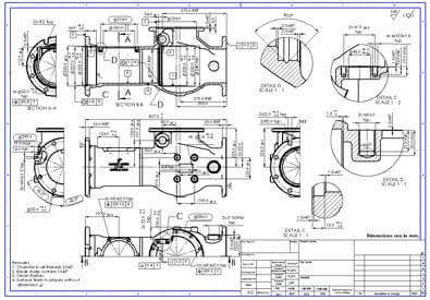 Cad Drafting Services Solidworks 2d Drafting Cad
