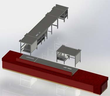 3D CAD Model of Furniture Design