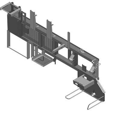 3D CAD Model of Machine Part