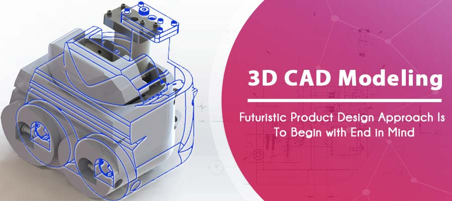 3D CAD Modeling Futuristic Product Design