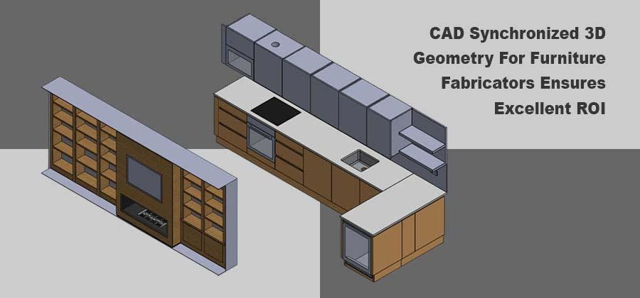 CAD Synchronized Furniture