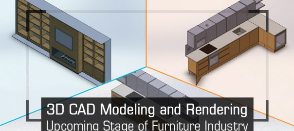 3D CAD Modeling and Rendering – Upcoming Stage of Furniture Industry